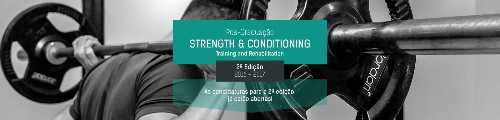 Pós-Graduação  STRENGTH & CONDITIONING