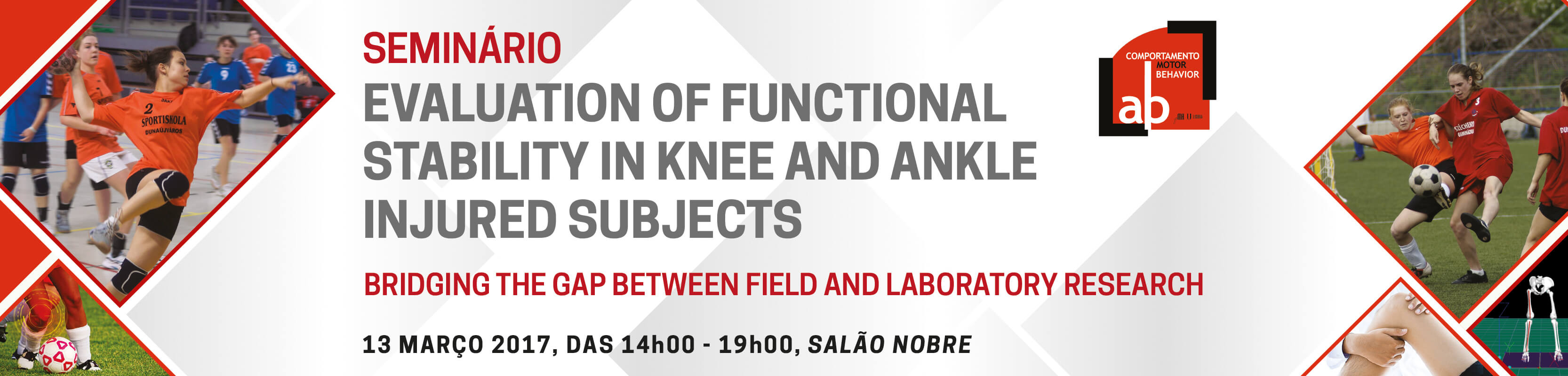 Seminário Evaluation Of Functional Stability in Knee and Ankle Injured Subjects